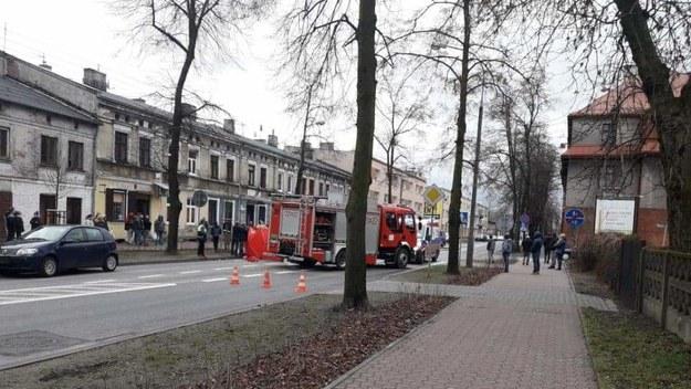 Zdjęcie z miejsca wypadku /Gorąca Linia RMF FM /Gorąca Linia RMF FM