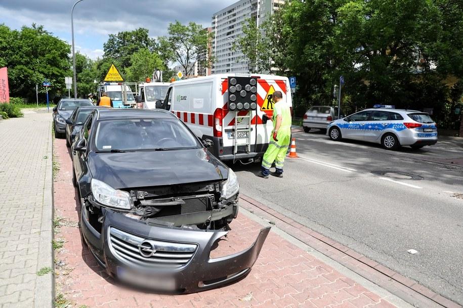 Zdjęcie z miejsca wypadku /Rafał Guz /PAP