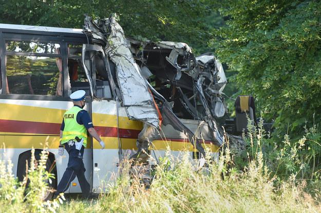 Zdjęcie z miejsca wypadku / Łukasz Dejnarowicz  /Agencja FORUM