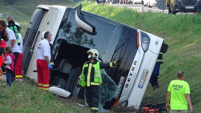Zdjęcie z miejsca wypadku /FERENC DONKA /PAP/EPA