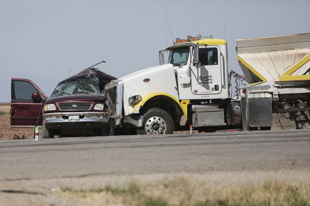 Zdjęcie z miejsca wypadku /Sandy Huffaker /PAP/EPA