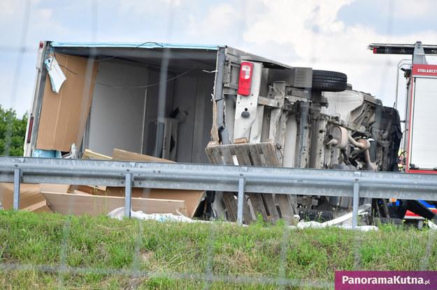 Zdjęcie z miejsca wypadku /panoramakutna.pl /