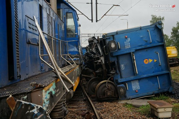 Zdjęcie z miejsca wypadku /slaska.policja.gov.pl /