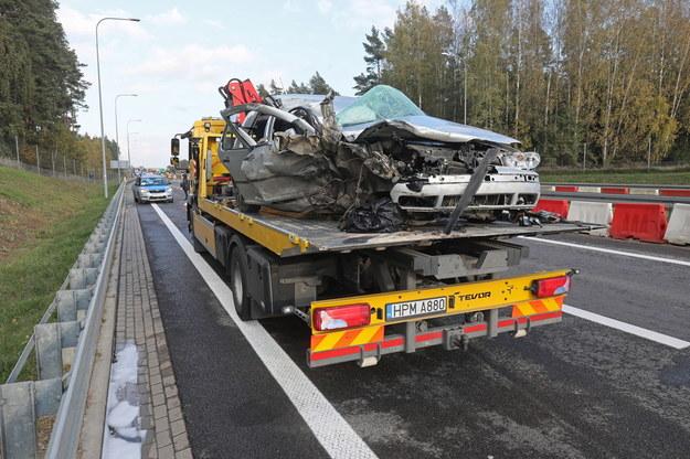 Zdjęcie z miejsca wypadku / Artur Reszko    /PAP