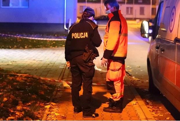 Zdjęcie z miejsca zdarzenia Fot.: Stalowka.NET / Jacek Rodecki /RMF24