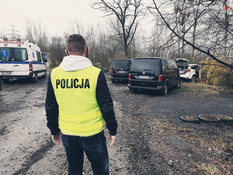 Zdjęcie z miejsca zdarzenia w Rudzie Śląskiej /Policja Śląska /Policja
