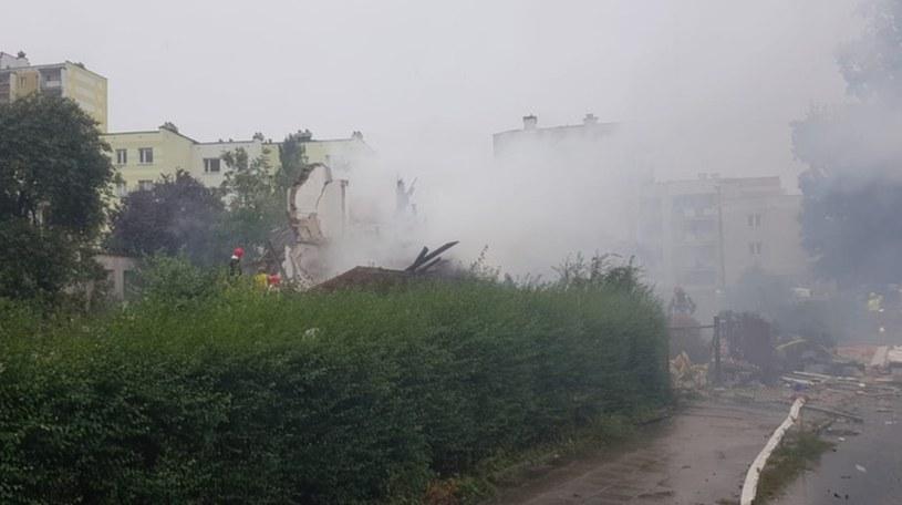Zdjęcie z miejsca zdarzenia; źródło: KM PSP Toruń /Polsat News