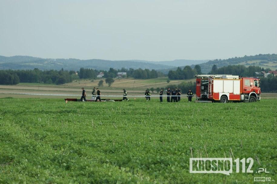 Zdjęcie z miejsca zdarzenia /krosno112.pl /Gorąca Linia RMF FM