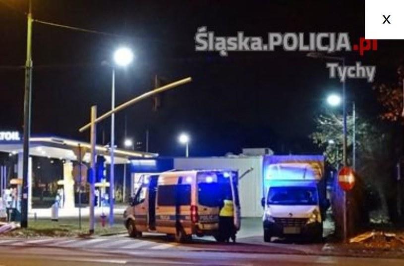 Zdjęcie z miejsca zdarzenia /Policja