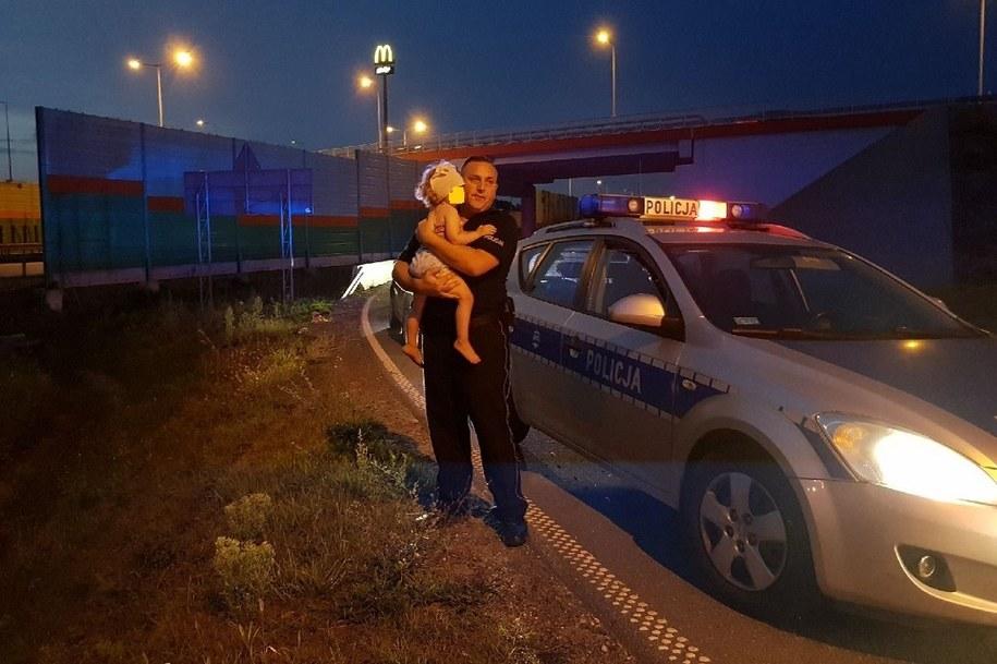 Zdjęcie z miejsca zdarzenia /Łódzka policja /