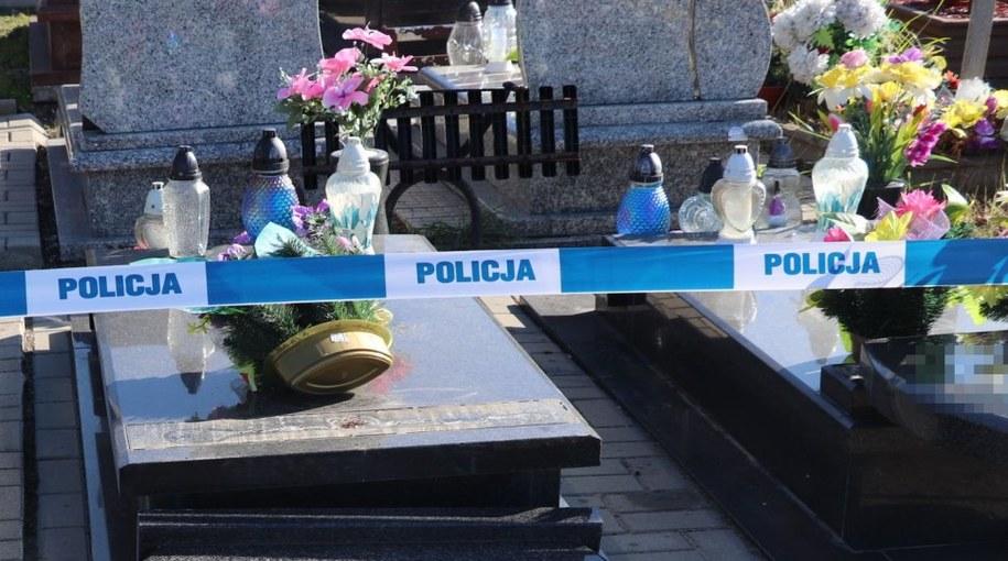 Zdjęcie z miejsca zdarzenia /Śląska policja /