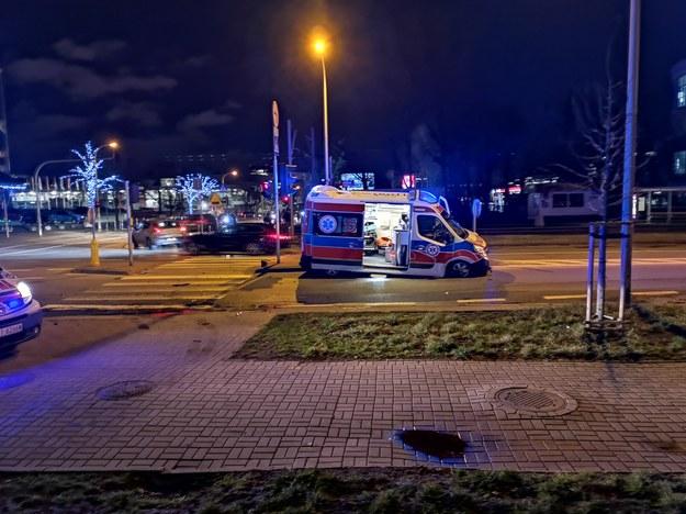 Zdjęcie z miejsca zdarzenia /INTERIA.PL