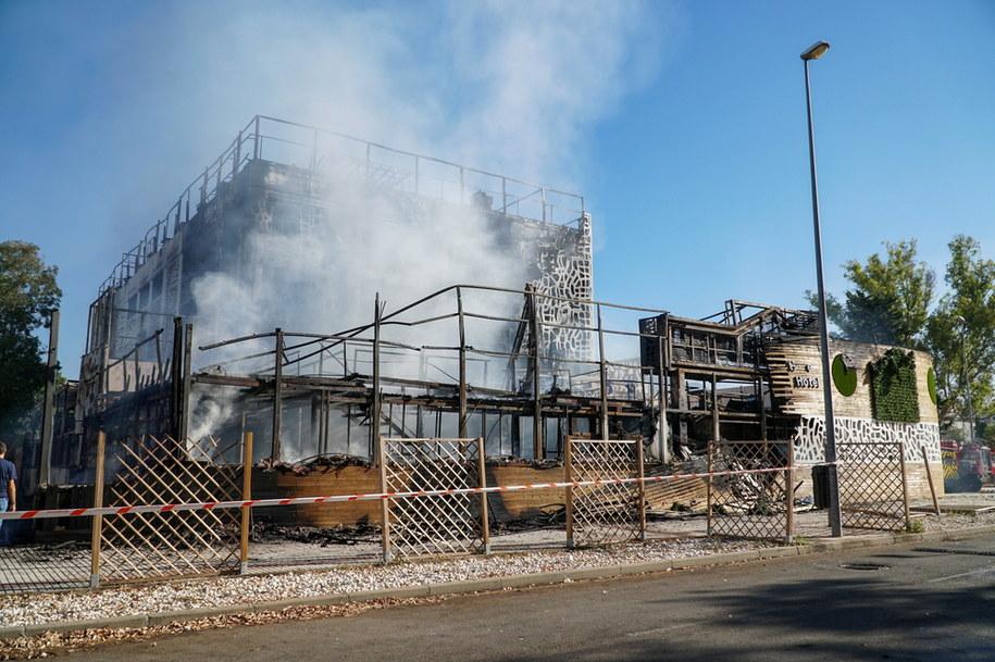 Zdjęcie z miejsca zdarzenia /Antonio Paz /PAP/EPA