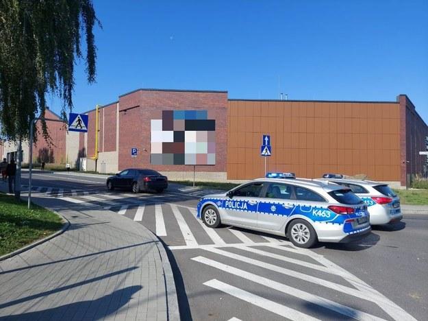 Zdjęcie z miejsca zdarzenia / KPP Jarosław /