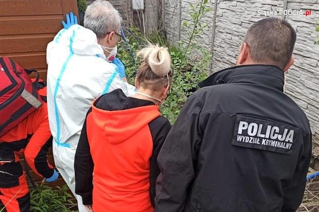 Zdjęcie z miejsca znalezienia zwłok 11-letniego Sebastiana /foto. Policja Śląska /
