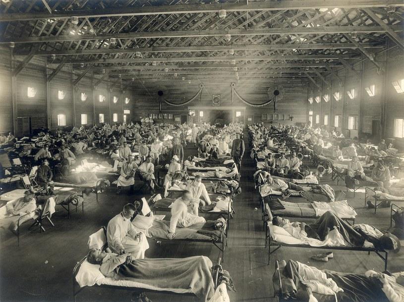 Zdjęcie z pandemii hiszpanki /Wikipedia