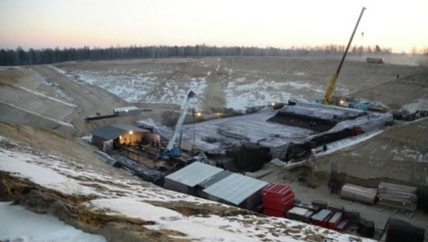 Zdjęcie z placu budowy kosmodromu Wostocznyj /materiały prasowe