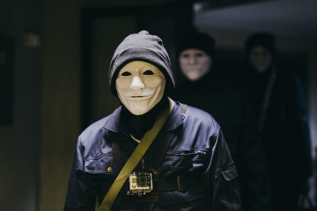 Zdjęcie z planu filmu /fot.N. Szuldrzynska /Materiały prasowe