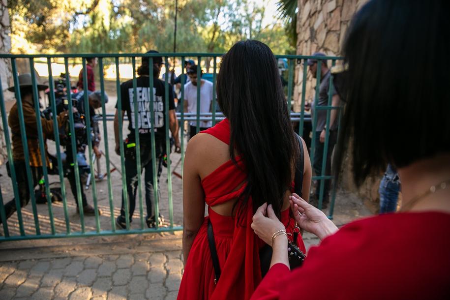 """Zdjęcie z planu """"The Wall od Mexico"""" /Krzysiek Hawrot /Materiały prasowe"""