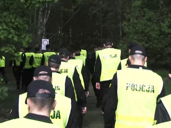 Zdjęcie z poszukiwań 13-latka (Źródło: Policja Lubelska) /Policja
