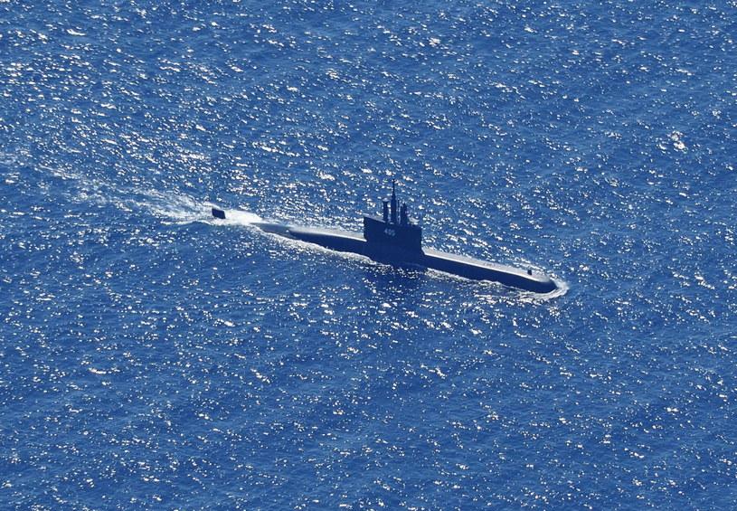 Zdjęcie z poszukiwań zaginionego okrętu podwodnego /ERIC IRENG /PAP/EPA