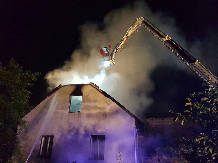 Zdjęcie z pożaru /Gorąca Linia RMF FM /Gorąca Linia RMF FM