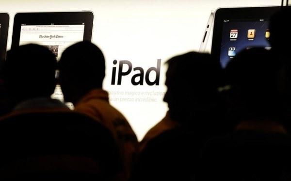 Zdjęcie z prezentacji iPada /AFP