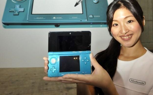 Zdjęcie z prezentacji konsoli Nintendo 3DS /AFP