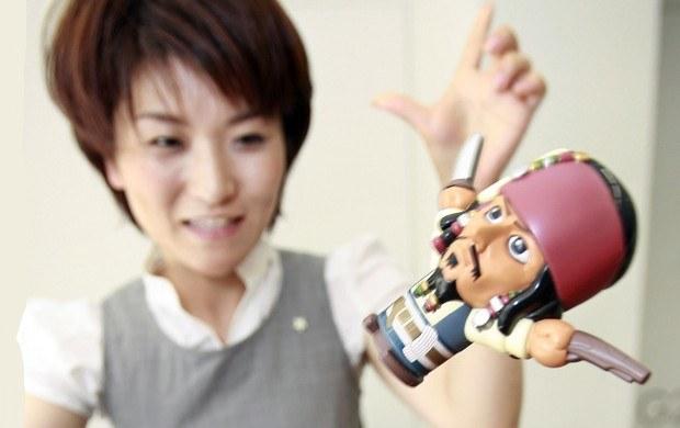 Zdjęcie z prezentacji zręcznościowej gry Pop Up Pirate /AFP