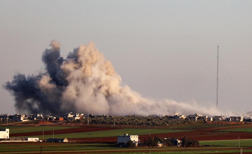 Zdjęcie z prowincji Idlib /AFP