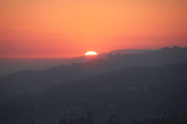 Zdjęcie z punktu obserwacyjnego Griffith Observatory /Paweł Żuchowski /RMF FM