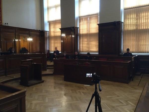 Zdjęcie z sali rozpraw /Kuba Kaługa /RMF FM