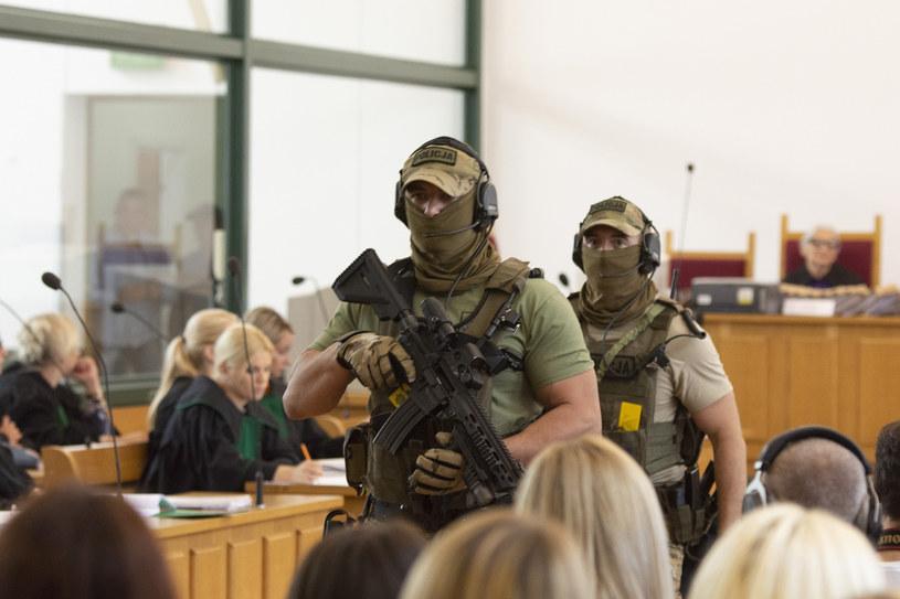 """Zdjęcie z toczącego się już procesu przeciwko członkom grupy """"Psycho Fans"""" /Michal Dubiel/REPORTER /East News"""