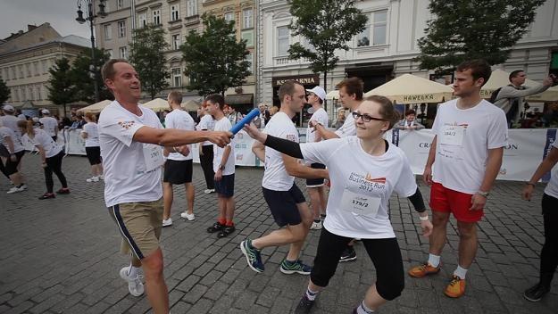 Zdjęcie z ubiegłorocznego biegu w Krakowie /