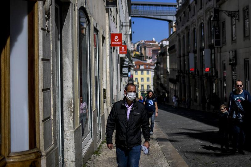 Zdjęcie z ulic Lizbony /AFP