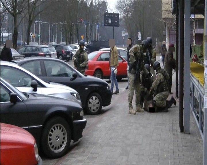 Zdjęcie z zatrzymania, fot. kedzierzyn-kozle.policja.gov.pl /Policja