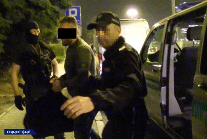 """Zdjęcie z zatrzymania """"Miśka"""" /Policja"""