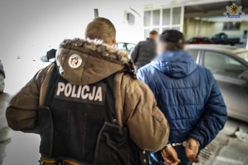 Zdjęcie z zatrzymania udostępnione przez policję /KWP Gdańsk /