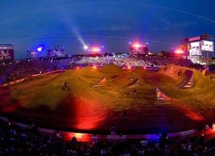 Zdjęcie z zawodów w Teksasie. Podobnie będzie wyglądać Stadion X-lecia. Fot.: Red Bull Photo Files /materiały prasowe