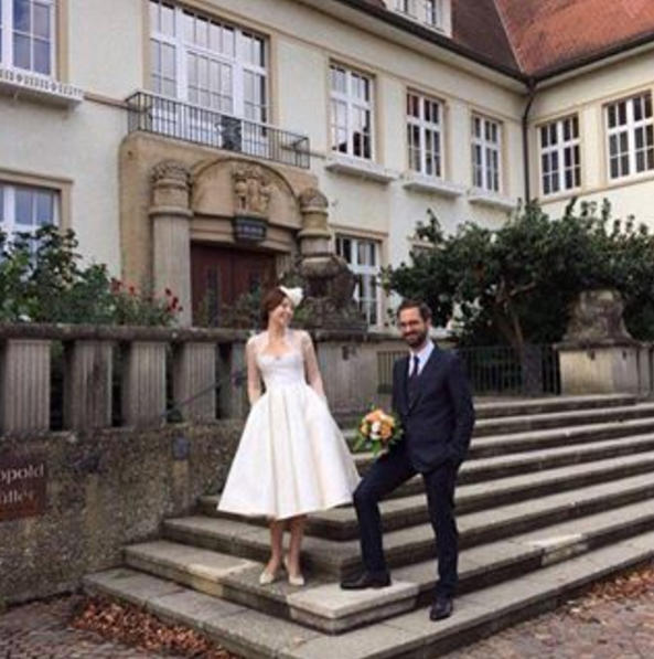Zdjęcie ze ślubu Selmy Egerc /Instagram /internet