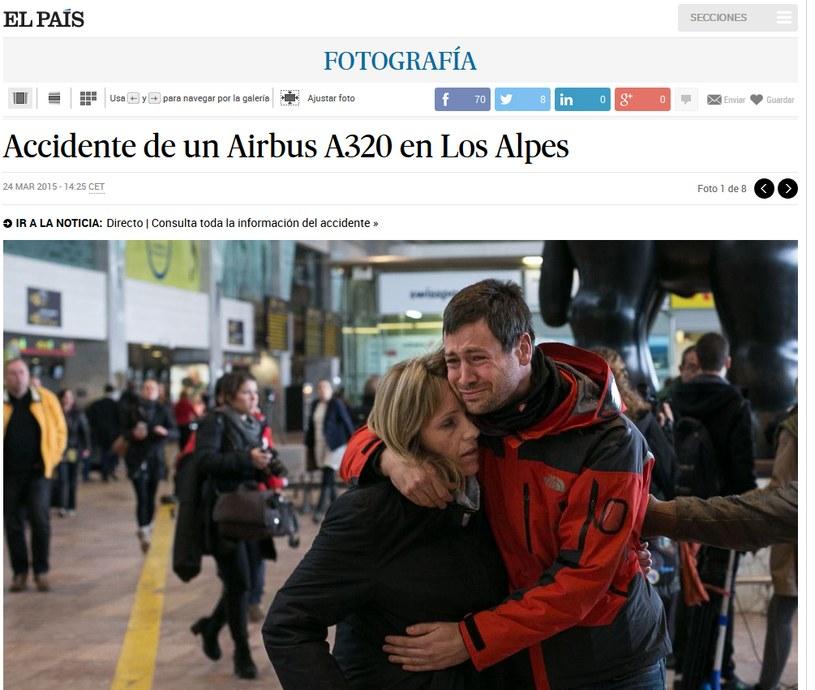 """Zdjęcie ze strony internetowej """"El Pais"""" /elpais.com /"""