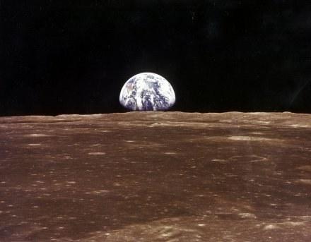 Zdjęcie Ziemi z 1969 roku z Apollo 11 /AFP