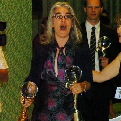 """Zdobywczyni Kryształowego Globu - Laurie Collyer (""""Sherrybaby"""") - fot. oficjalna strona festiwalu /"""
