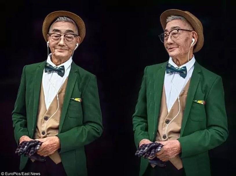 Zdumiewająca metamorfoza 85-letniego mieszkańca Chin /East News