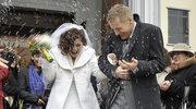 Zduńscy wreszcie wzięli ślub
