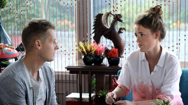 Zduńskiego zaskoczy reakcja żony. Spodziewał się, że tak jak on pragnie powiększyć rodzinę... /www.mjakmilosc.tvp.pl/