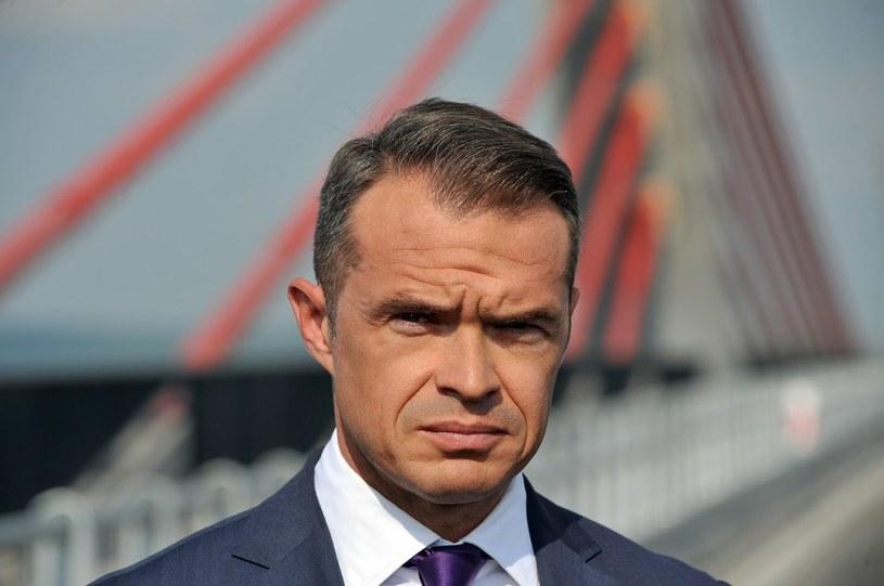 Zdymisjonowany minister Sławomir Nowak /Wojciech Stróżyk /Reporter