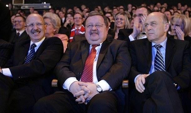 Zdzisław Kręcina (w środku) czuje się w Piaście Gliwice jak pączek w maśle. /RMF24.pl