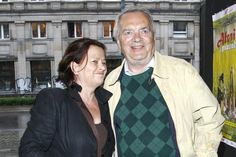 Zdzisław Wardejn z żoną Małgorzatą Pritulak /AKPA