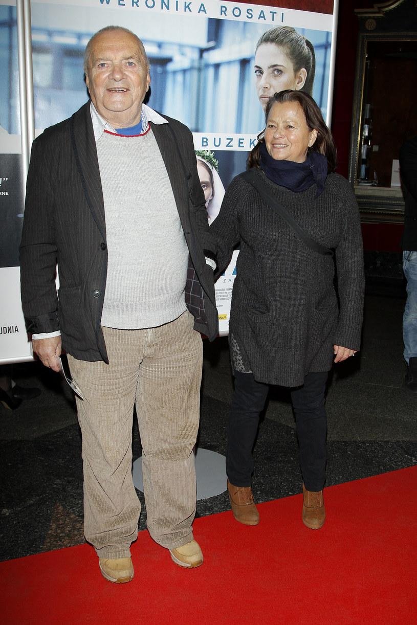 Zdzisław Wardejn z żoną Małgorzatą /Podlewski /AKPA